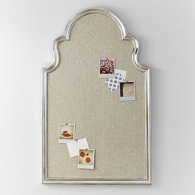 Arch Pinboard, Silver #pbteen