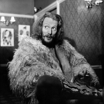 Cream drummer Ginger Baker, a man so rock'n'roll he was hospitalised after an epic 20 minute drum solo