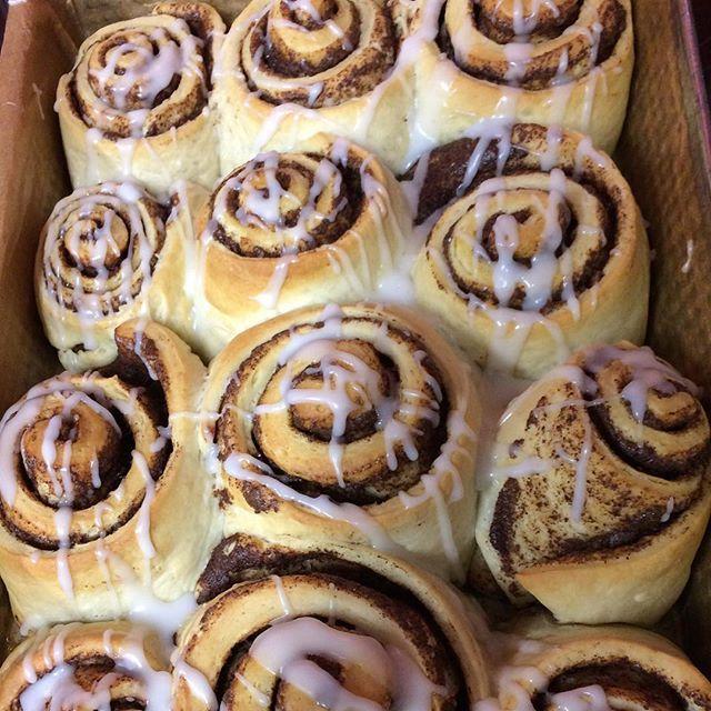 Jeszcze raz #cinamonrolls #tasty #smaczne #domowacukiernia #tarnowskiegory 🙈
