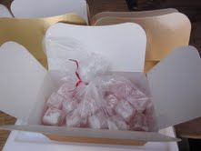 This golden box contains 350 grams of Rose #Turkish Delight - we are told that it is very like the Turkish Delight that Hadji Bey used to make when he worked in Cork.  http://www.marketdirect.ie/Rose-Turkish-Delight