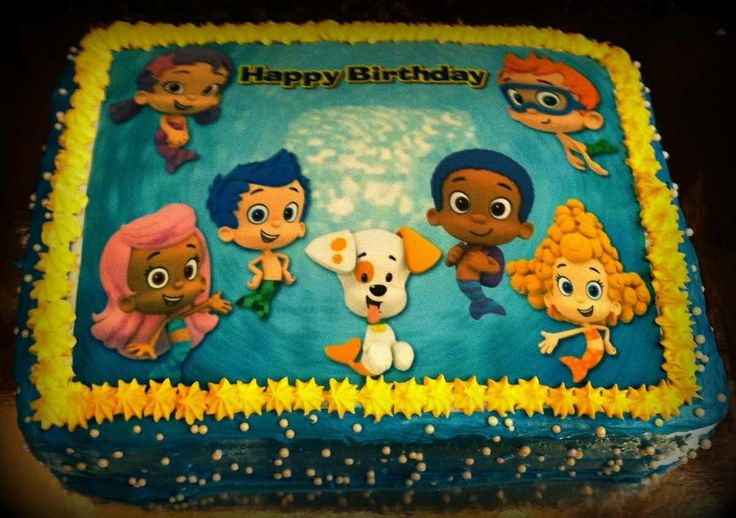 17 Best Images About Bubble Guppies Birthday Party Ideas