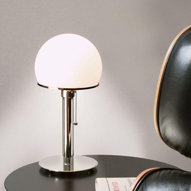 Wagenfeld 24 table lamp by Wilhelm Wagenfeld for Tecnolumen GmbH