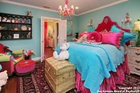 Turquoise and hot pink bedroom - Turquoise and pink bedroom ...