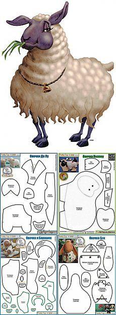 И опять овечки (выкройки) / Прочие виды рукоделия / Шитье