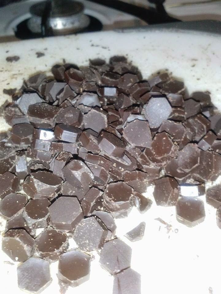 Stevia Chocolate chips This has been going around for awhile ,...I need to haunt Wallyworld for that trivet/mold