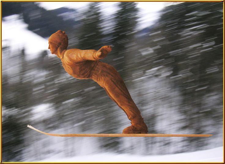Skispringer von Pascal Baur