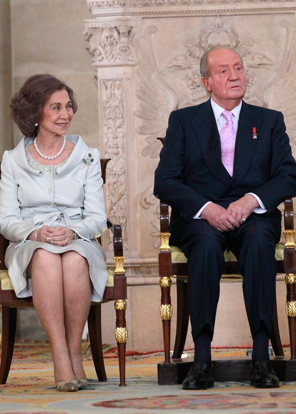 Abdication of King Juan Carlos I of Spain June 18, 2014: King Juan Carlos and Queen Sofia
