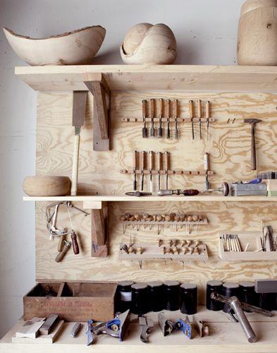 joshua Vogel's wood shop / shot by seth smoot #woodworking