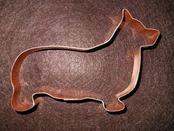 May have to start a new tradition this Christmas. Pembroke Welsh Corgi Dog Breed Cookie Cutter - hand crafted solid copper - free shipping in the USA