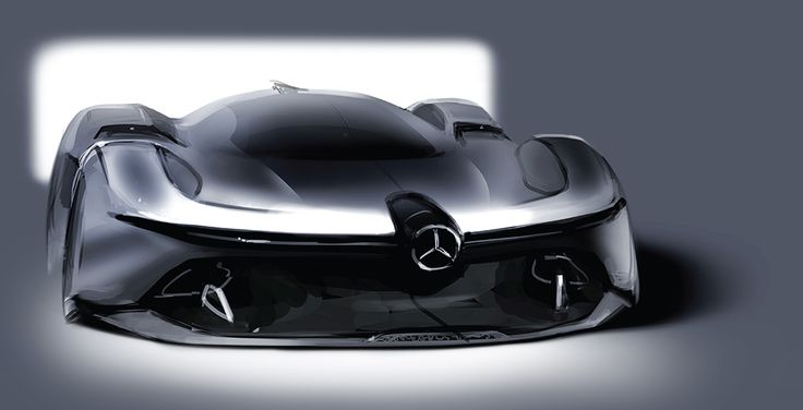 (Process) Mercedes-Benz 2040 W196R Streamliner on Behance