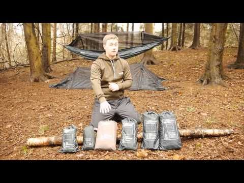 How To Set Up A Camping Hammock Perfectly | The Bushcraft Cave
