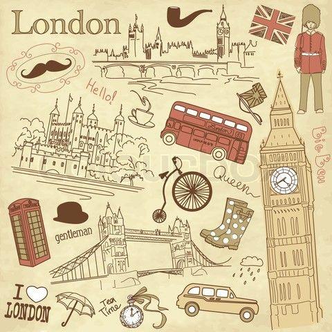 #ILovelondon#ILoveEngland#BritishIcons#Collage