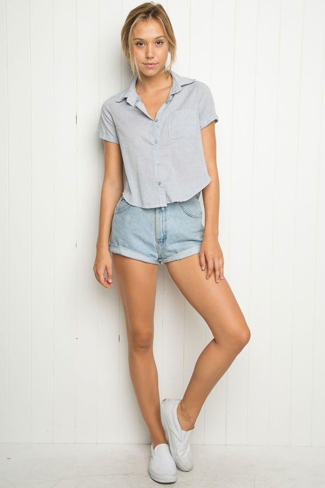 Brandy ♥ Melville | Peyton Shirt - Clothing