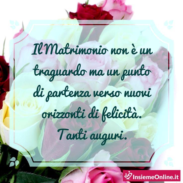 Auguri agli sposi :) Dedicate una frase di auguri sinceri ai vostri più cari amici.