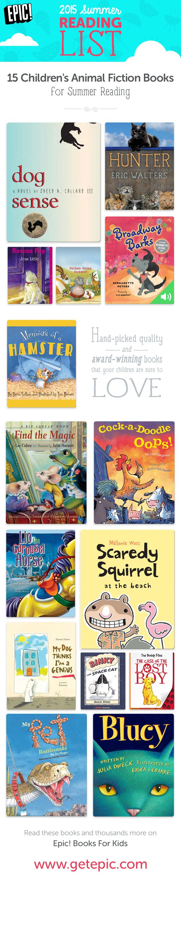 Check Out 15 Of Our Favorite Summer Books With Animal Characters! You Can  Find These