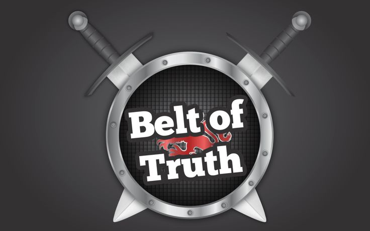 'Belt of Truth' Sunday School Lesson, GAMES and activities (Ephesians 6:14)