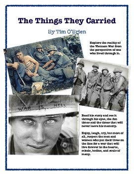 an assessment of the book the things they carried by tim obrien The things they carried by tim o'brien reading schedule  the book should be finished by wednesday, january 18th so you are prepared for the assessment,.