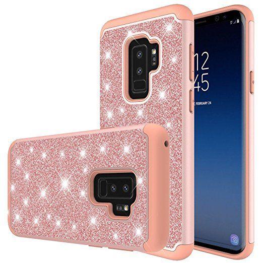 Samsung Galaxy S9 Plus Case Ucc Heavy Duty Protective With Fashion Design For Samsung Galaxy S9 Plus Phone Rose Phone Phone Case Accessories Samsung Galaxy S9
