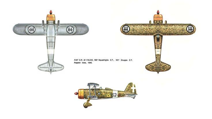 """Fiat CR 42 """"Falco"""""""