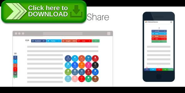 [ThemeForest]Free nulled download JS Ultimate Social Share for Joomla! from http://zippyfile.download/f.php?id=47216 Tags: ecommerce, facebook share, joomla, joomla k2, joomla plugin, joomla social share, k2 share, share, share content, share plugin, social share