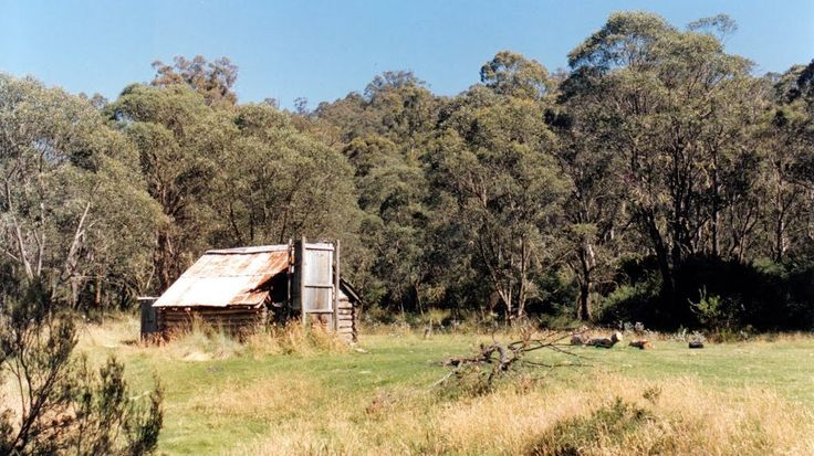 old bush hut, Moroka VIC 3860, Australia