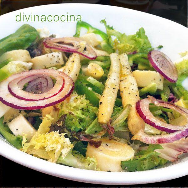 ensalada-verde-vinagreta-limon