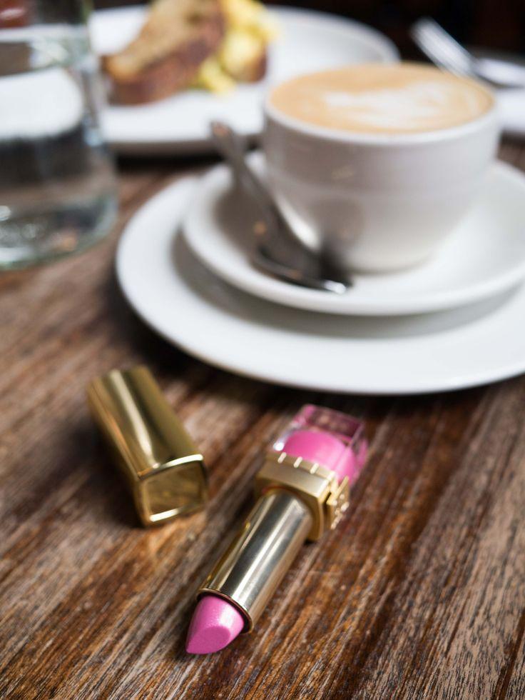 Always ready for a touch up! Estée Lauder Pure Color Lipstick