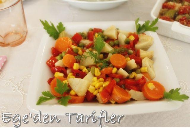 EGE'DEN TARİFLER: Enginar Salatası