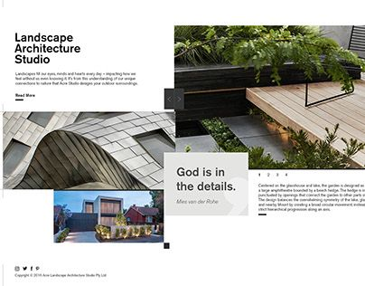 """Check out new work on my @Behance portfolio: """"ACRE Architecture website"""" http://be.net/gallery/40745117/ACRE-Architecture-website"""