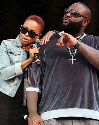 Chrisette Michele & Rick Ross