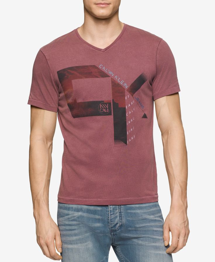 Calvin Klein Men's Sunset Graphic-Print T-Shirt