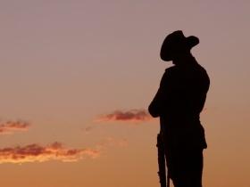 Dawn Service at Gallipoli