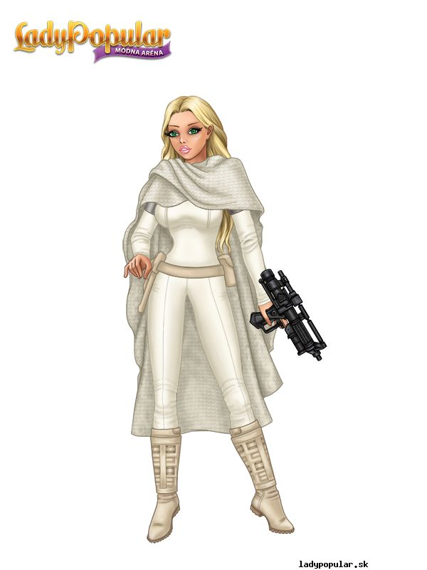 Summer D. as a hero from Star Wars
