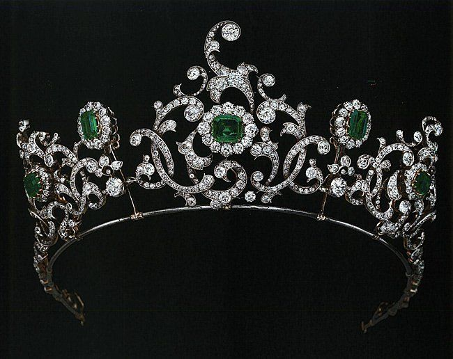Emerald Tiara Alternate: Duchess of Devonshire Emerald Tiara