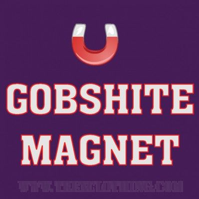 Gobshite Magnet - Womens T-shirt or Hoodie in a variety of colours size XS to XL