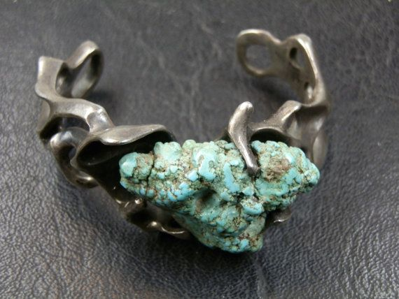 One of a kind Zacatecas Turquoise and by DanPickedMinerals on Etsy, $248.75