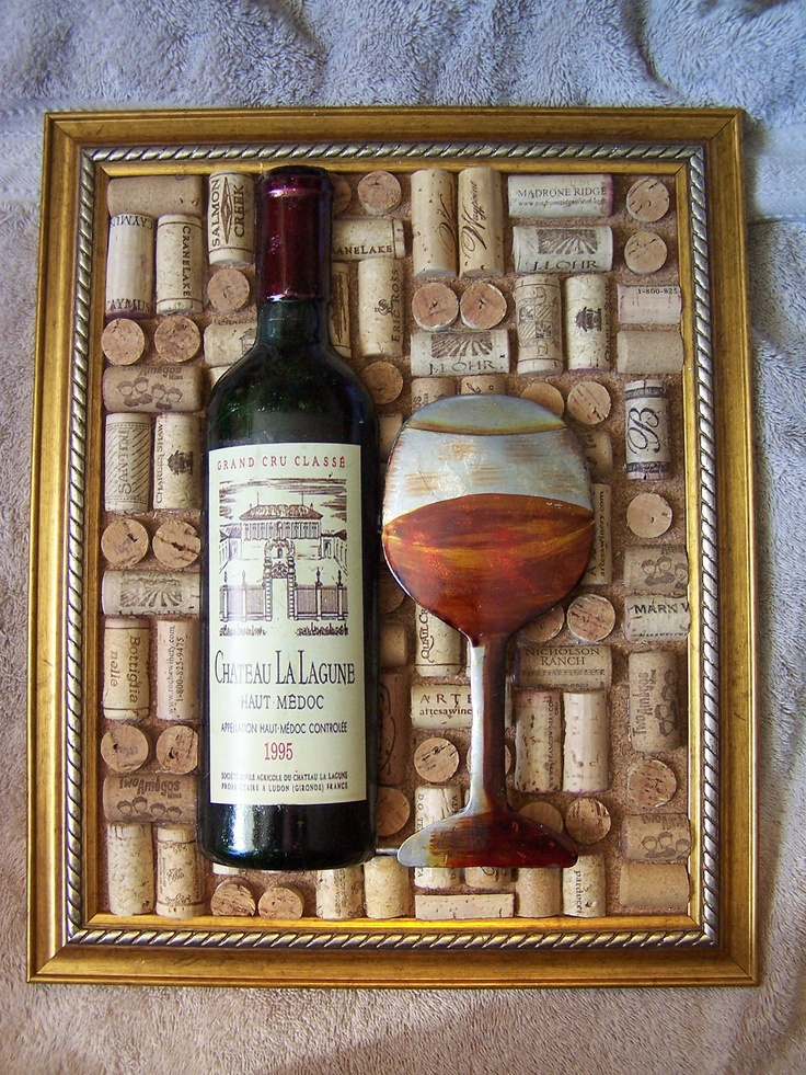 86 best cork art and cork diy images on pinterest wine for Wine bottle arts and crafts