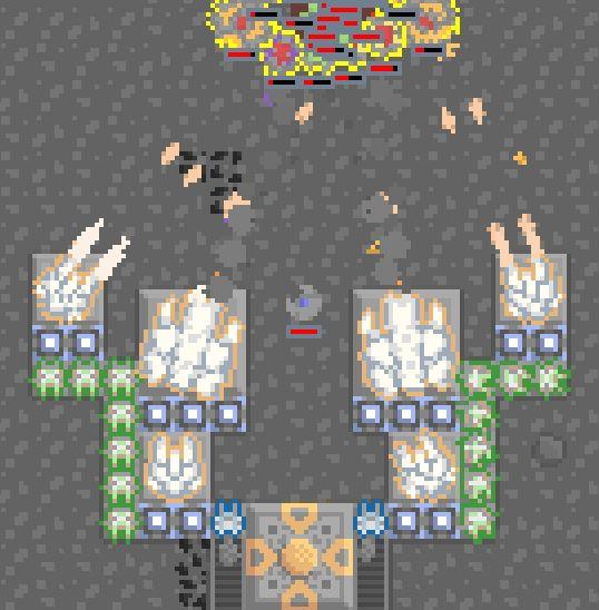 A sandbox tower defense game