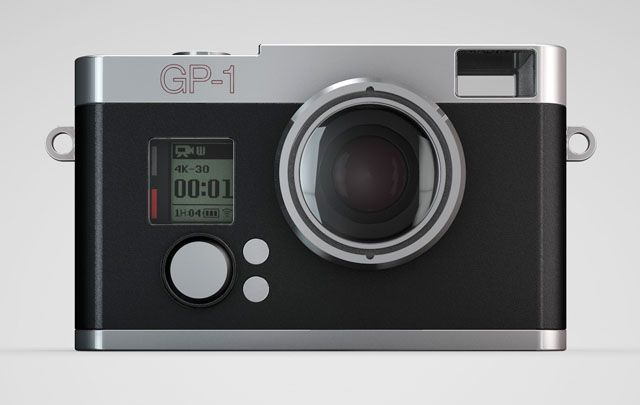 The Exo GP-1 Housing Turns Your GoPro Into a Classic Camera Look-Alike