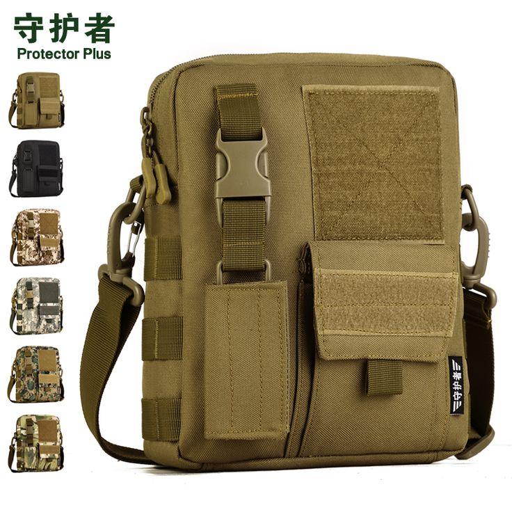 Tactics Military Men Messenger Bag Small Molle Pouch Crossbody Shoulder Messenger Bags Men's Nylon Camp Hike Equipment