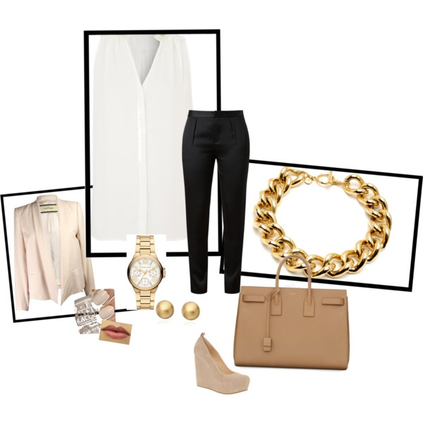 Casual interview outfit by meagan-mallinos on Polyvore