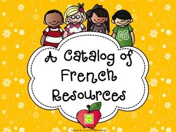 Free - FRENCH Resources Catalog - practical and quick way of checking out my French resources (free and paid)