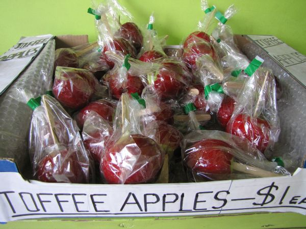 Toffee Apples. #Tasmania. Article and photo for www.think-tasmania.com