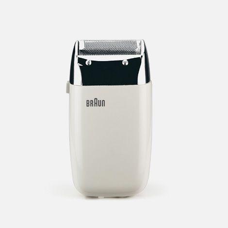 "Dieter Rams.  Ten Commandments of Design.  ""Good design is innovative""  (Braun S60 electric razor, 1958)"