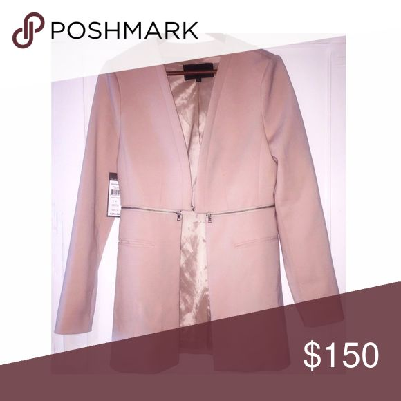 NEW BCBGMaxAzria COAT Blush Pink Coat - Soft and very Comfortable. Perfect for any occasions 😉 BCBGMaxAzria Other