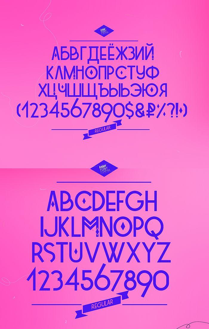 Tetra free font 01