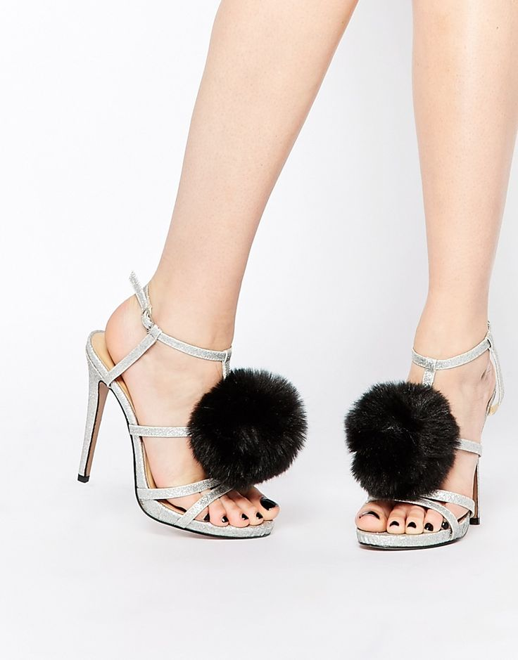 Metallic and fluffy, the dream! : http://asos.do/wepZa7: