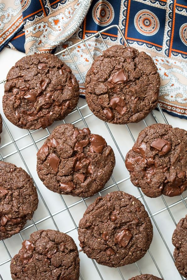 5793 One Bowl Double Chocolate Chunk Cookies Chocolate Chunk Cookies ...