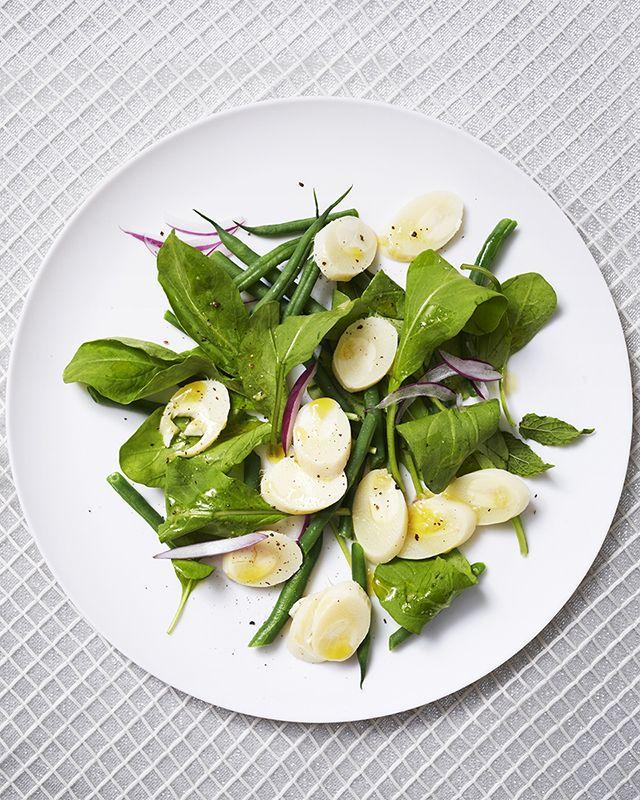 Salad days claudette s corsican mint salad for Cuisine by claudette