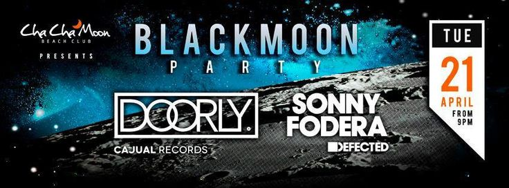 Cha Cha Moon Koh Samui Presents Black Moon Party
